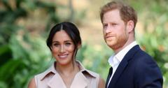 Prince Harry and Meghan Markle photographed candidly.