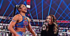 Bianca Belair wins the Royal Rumble