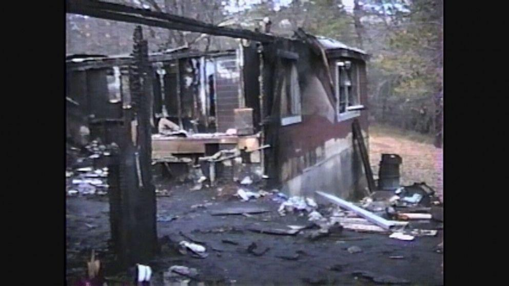 Karl Karlsen's burned home