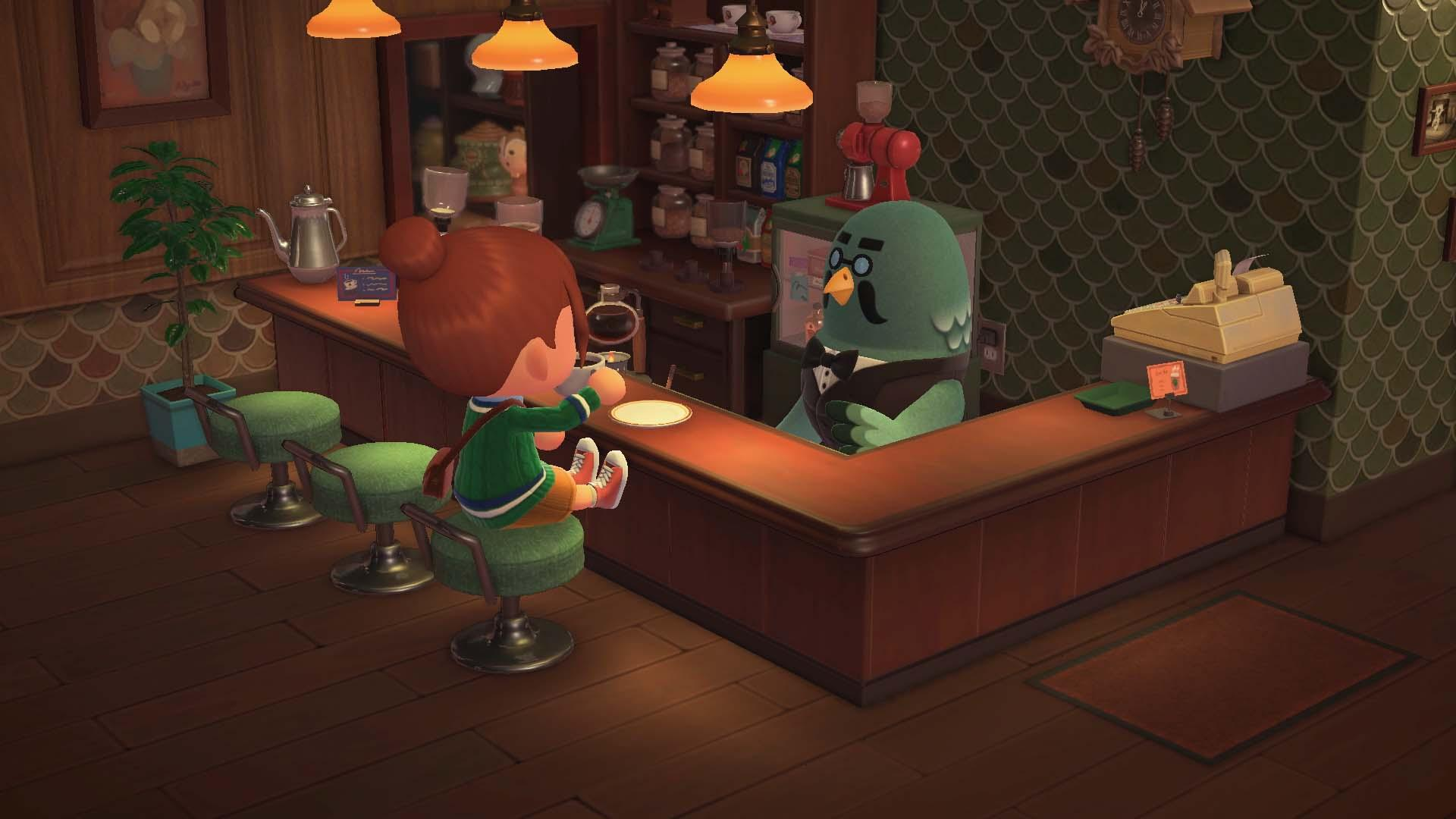 Brewster in 'Animal Crossing: New Horizons'