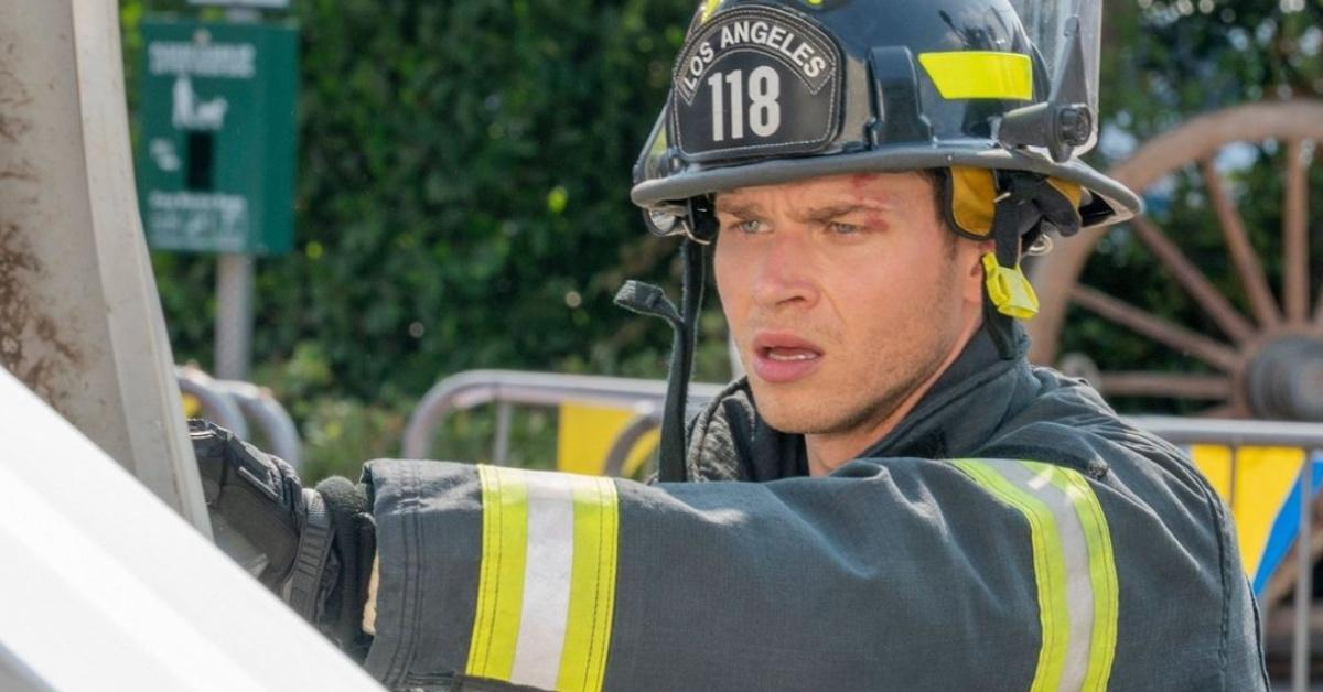 Oliver Stark as Evan Buckley in '9-1-1'