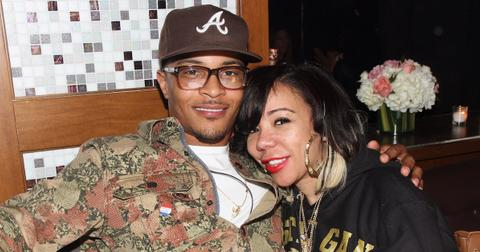 T.I. and his wife Tiny.