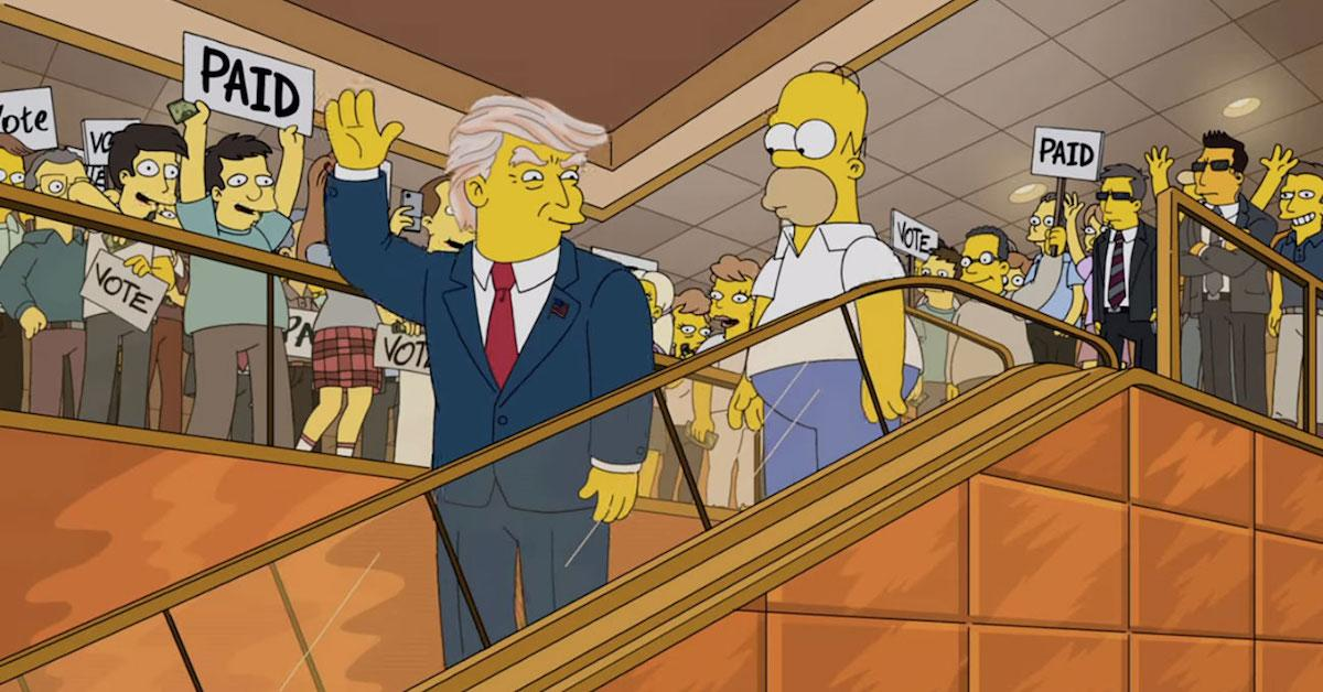 Fact Check: 'The Simpsons' Never Killed off Donald Trump