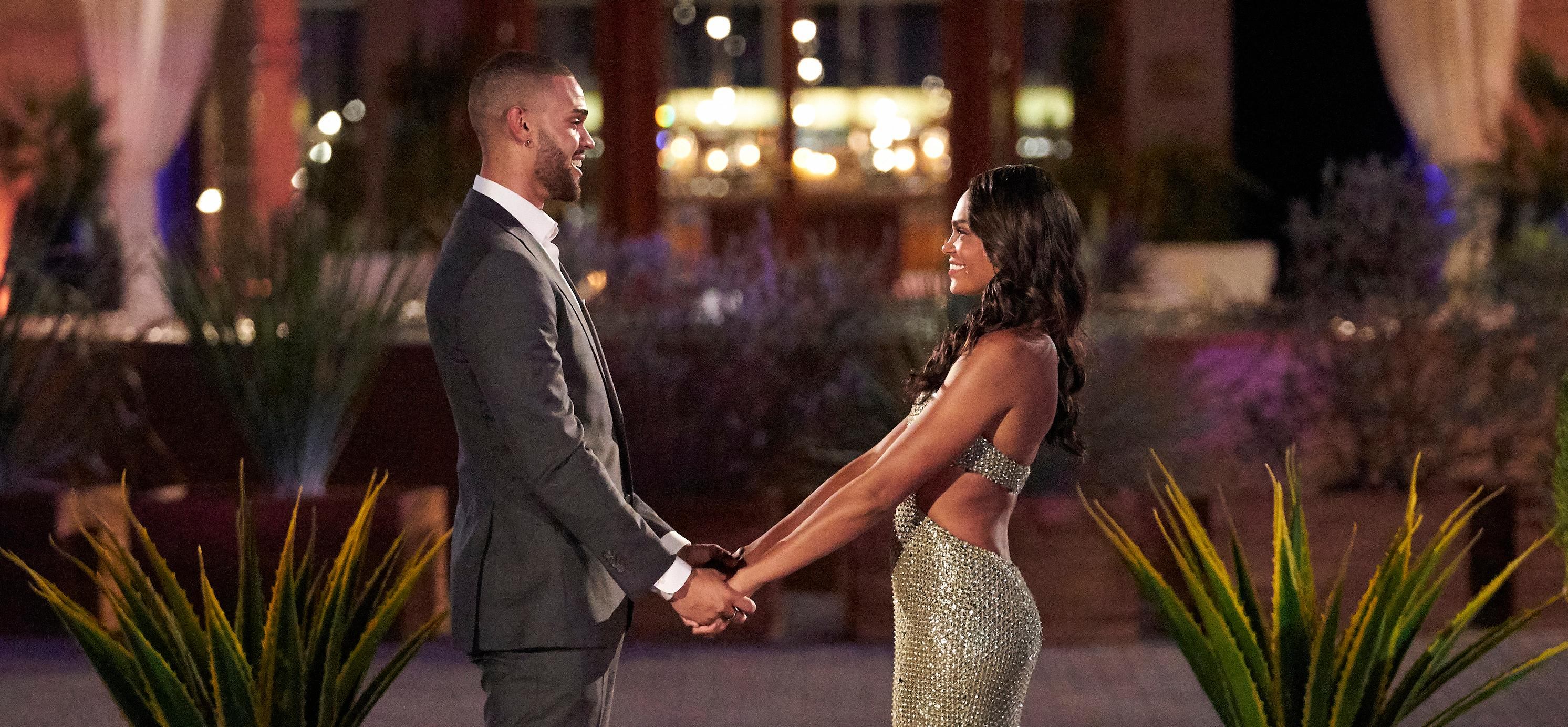 Nayte and Michelle on 'The Bachelorette'