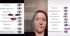 eye shape chart challenge tiktok