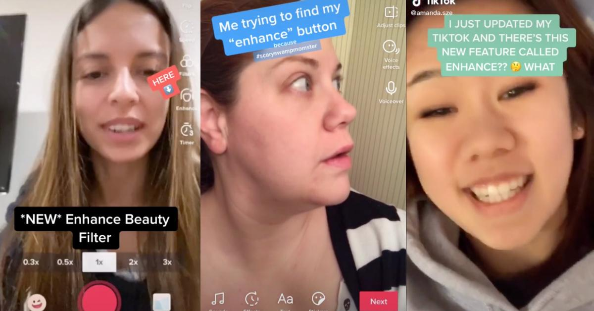 How To Get The Enhance Filter On Tiktok We Have Bad News For You