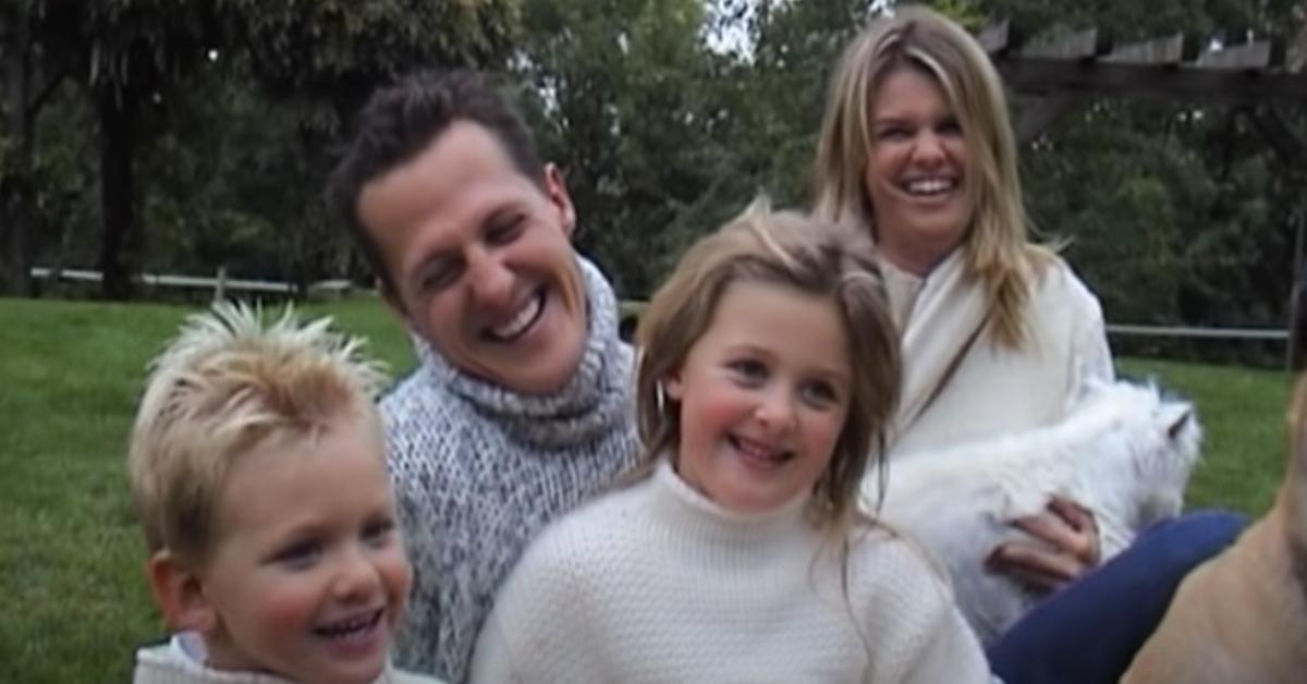 Michael Schumacher and his family