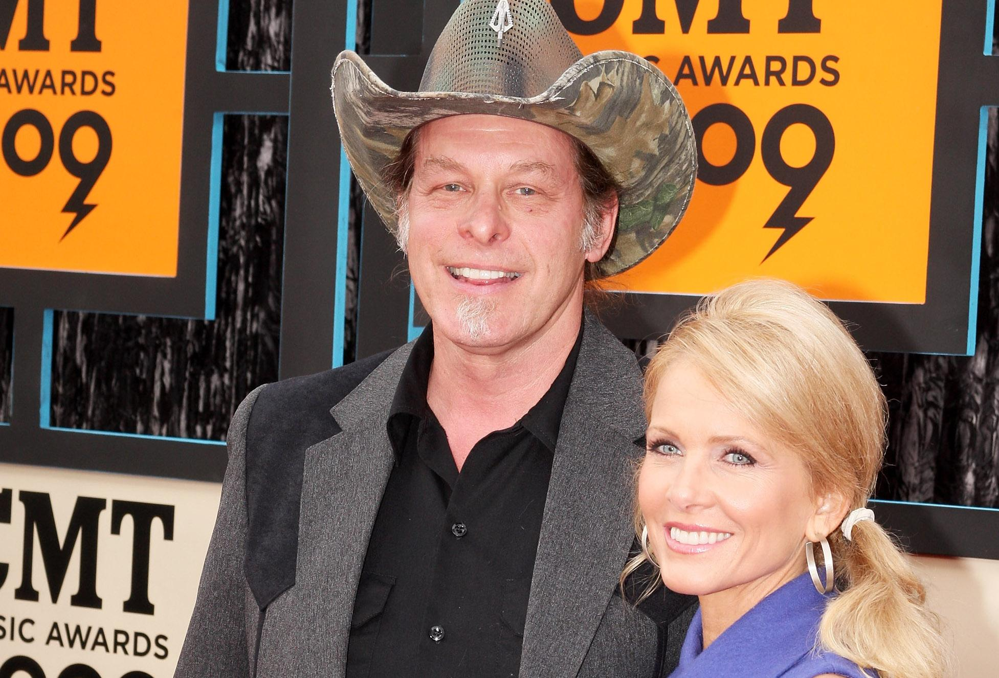 Ted Nugent and His Wife Shemaine