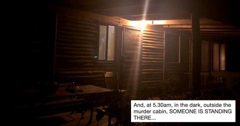 Comic Author Tom Taylor Rents A Very Scary Cabin And Horror Ensues