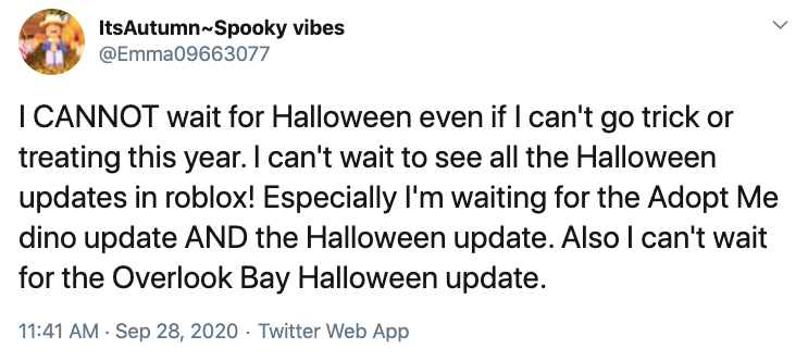 All Roblox Halloween Event Items When Does The Adopt Me Halloween Event Start This Year Details