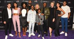 'All American' Season 3 New Cast at the Paley Center