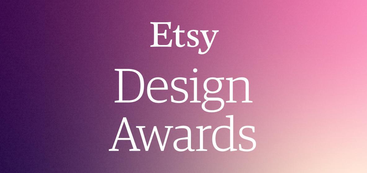 etsy design awards logo