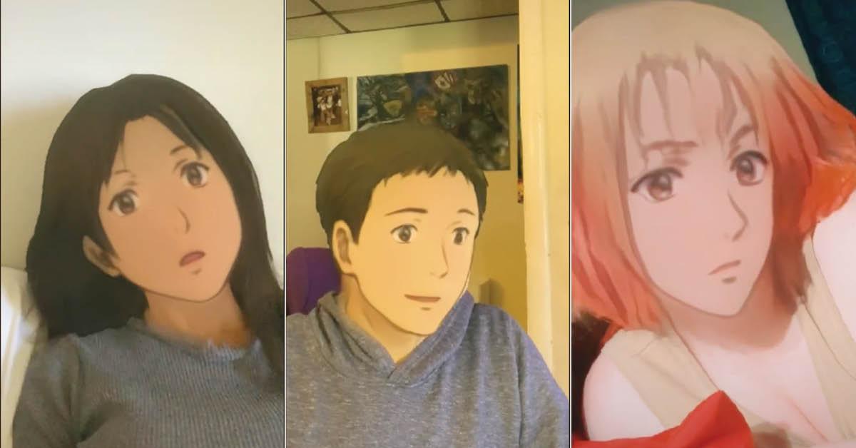 The Anime Filter on TikTok Shows What You'd Look Like as ...  |Tiktok Trend Anime