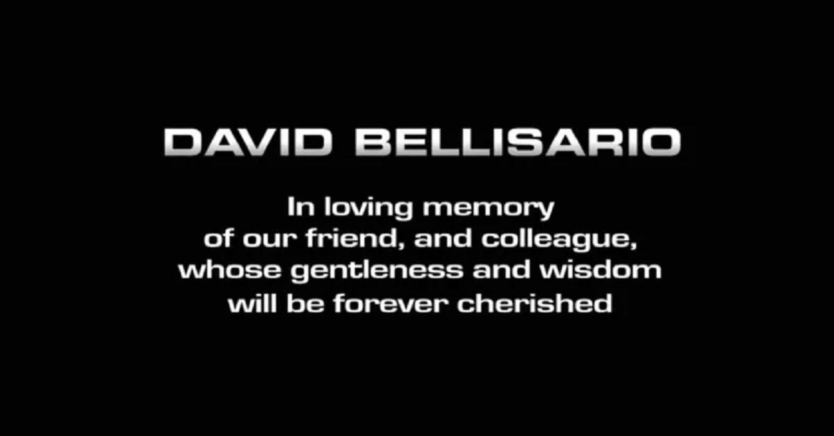 david bellisario what happened