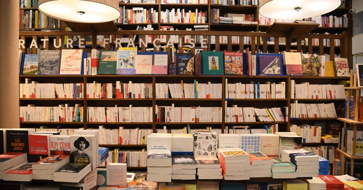 A bookstore.