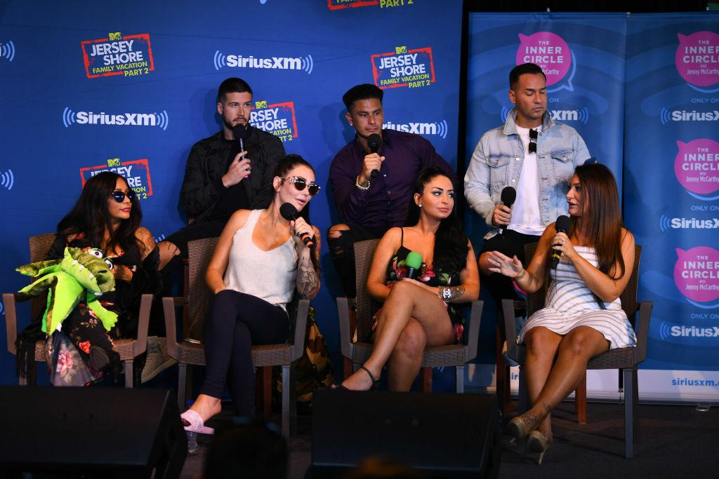 The Jenny McCarthy Show' With The Cast Of MTV's 'Jersey Shore'.