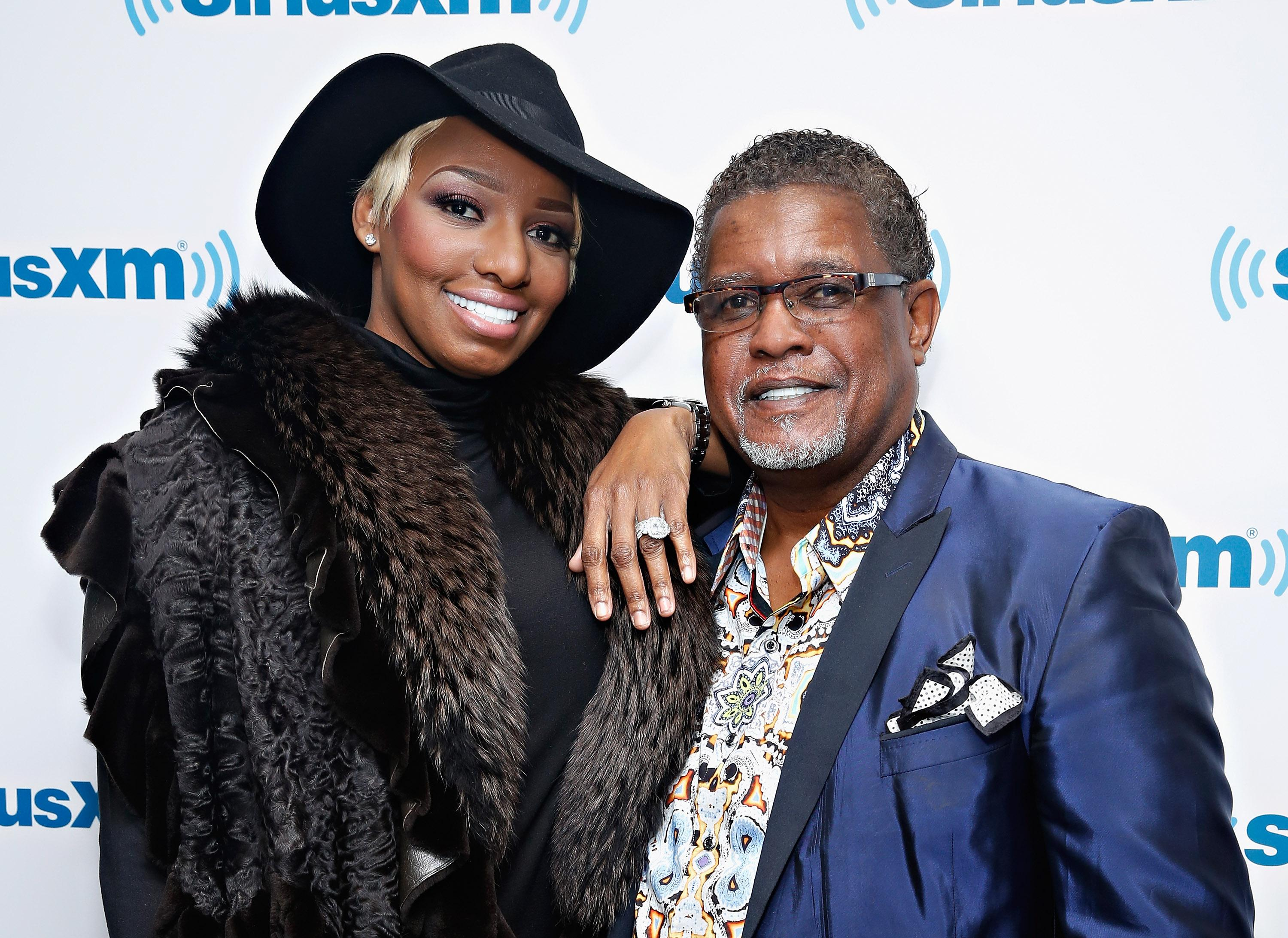 NeNe and Gregg Leakes
