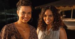 Sharon Leal and Michele Weaver