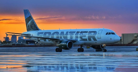 frontier airlines cover