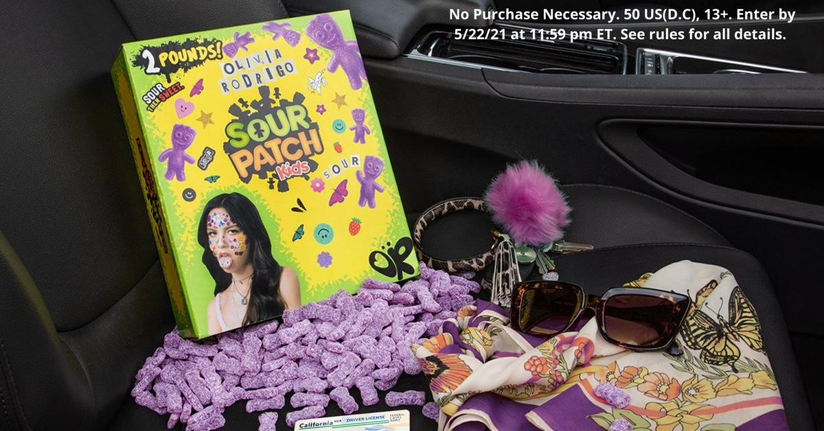 Olivia Rodrigo Sour Patch Kids: Here's We Know About the Collaboration