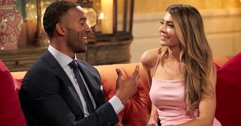 Matt James and Sarah Trott on 'The Bachelor'
