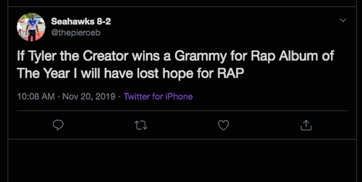 Tyler The Creator S Grammy Nomination Has Twitter Totally Torn