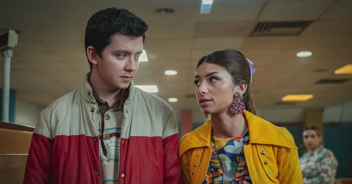 Otis and Ruby in 'Sex Education'