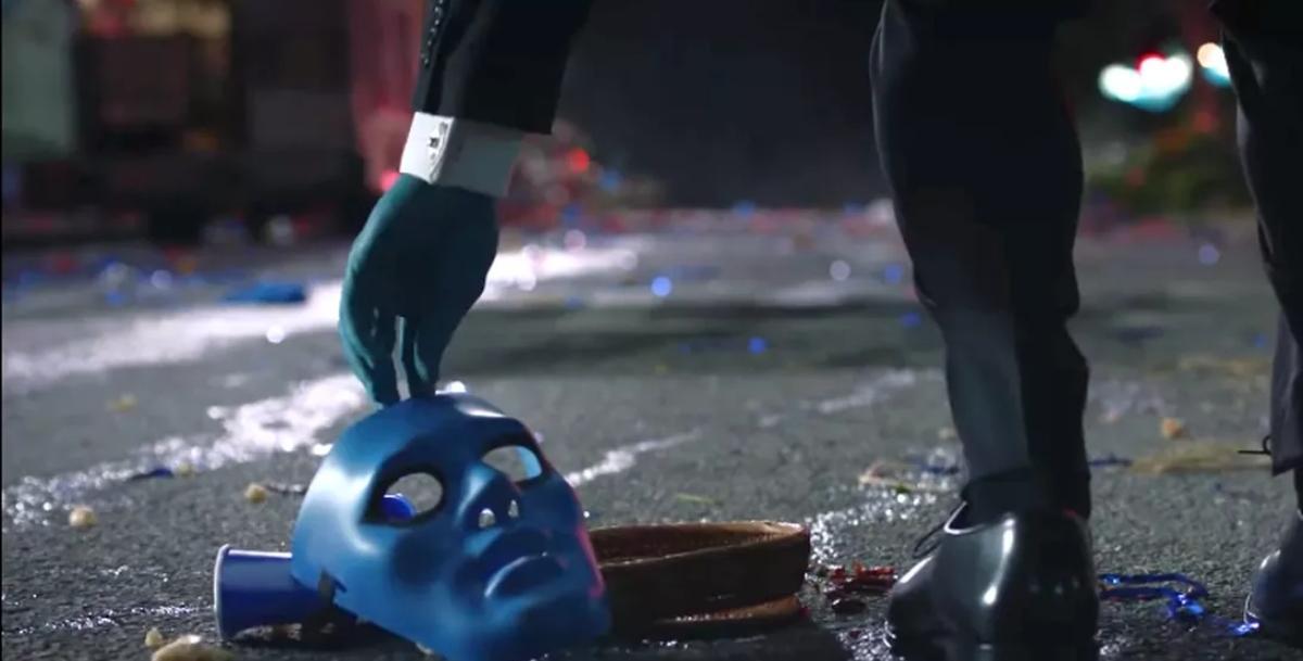 Watchmen Blue Dildo
