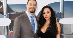 Roman Reigns and his wife, Galina Becker