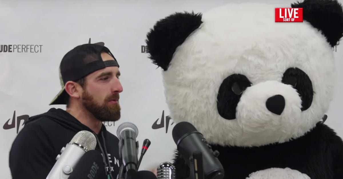 who is panda on dude perfect reveal
