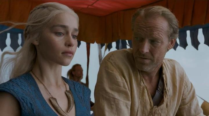 daenerys and ser jorah mormont