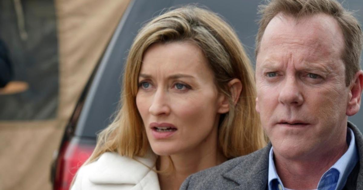 why did natascha mcelhone leave 'designated survivor