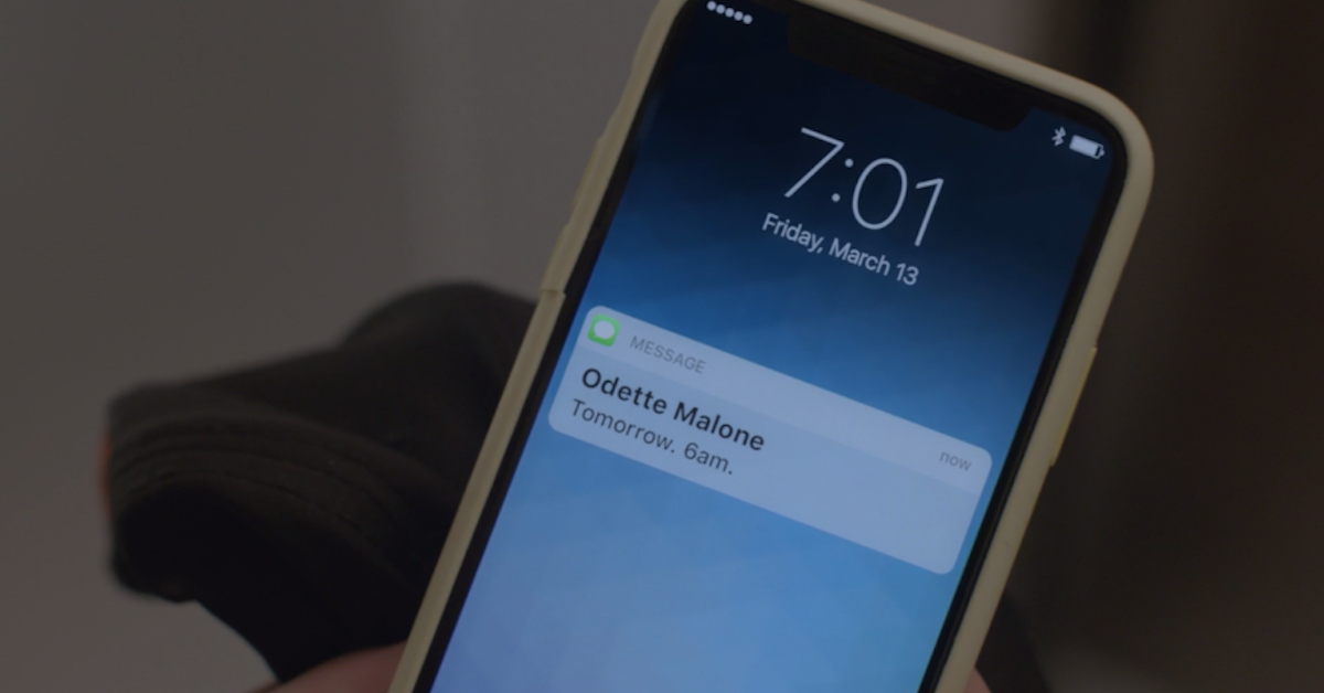 who is odette malone ncis