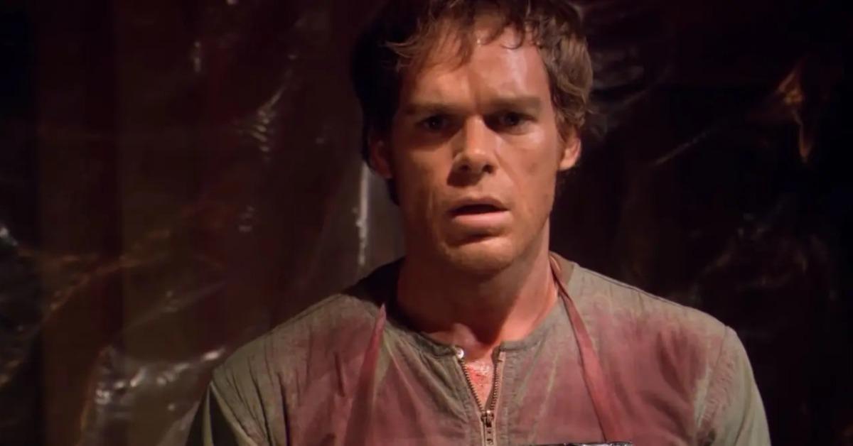 Michael C. Hall as Dexter in 'Dexter'
