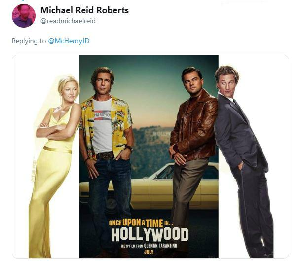 Once Upon A Time In Hollywood: People Roasting 'Once Upon A Time In Hollywood' Poster