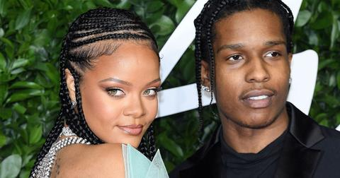 Image result for a$ap rocky and rihanna
