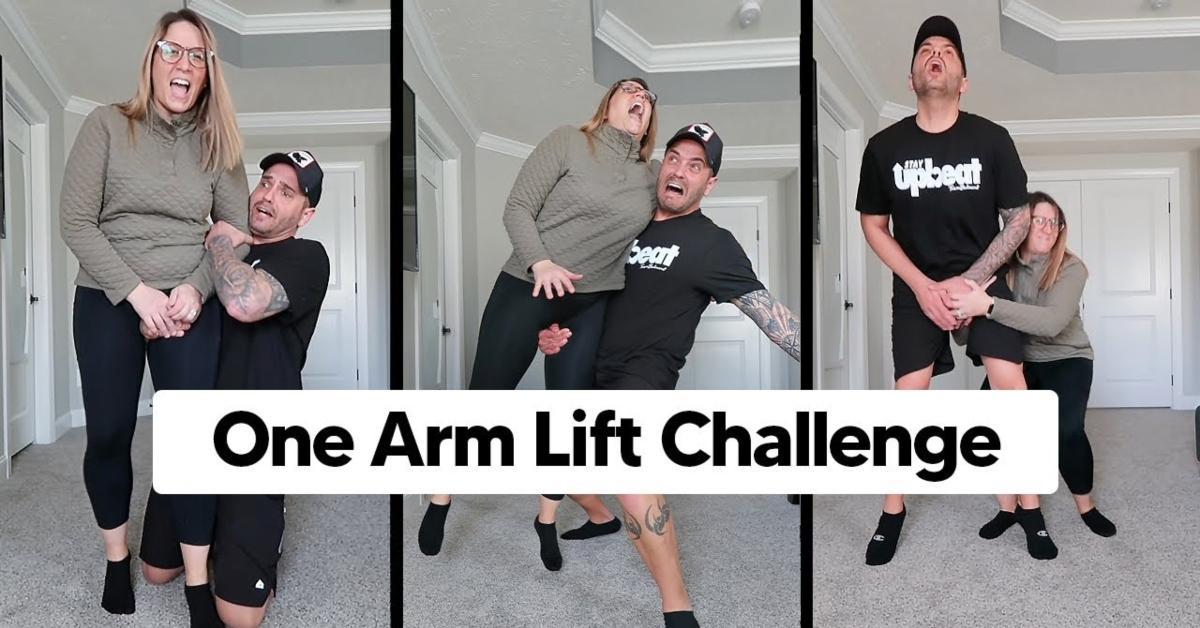 One Arm Lift Challenge on TikTok