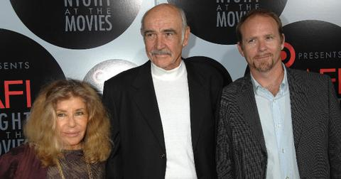 Sean Connery and one of his children