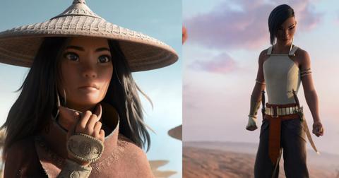 Nova princesa da Disney Raya e Namaari