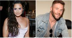 Demi Lovato and Julian Edelman