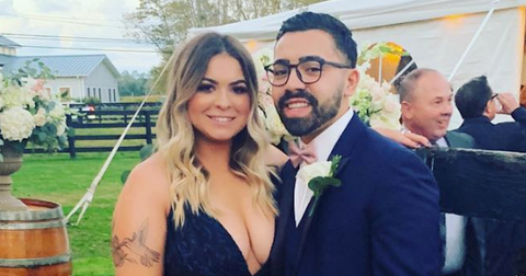 """Victoria Caputo s Wedding: The Bride-To-Be Said """"Yes"""" to the Dress"""