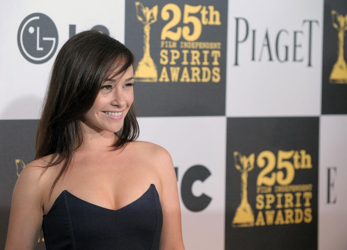 Danielle Harris arrives at the 25th Film Independent Spirit Awards.
