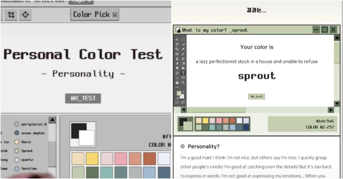 Color Personality Test TikTok