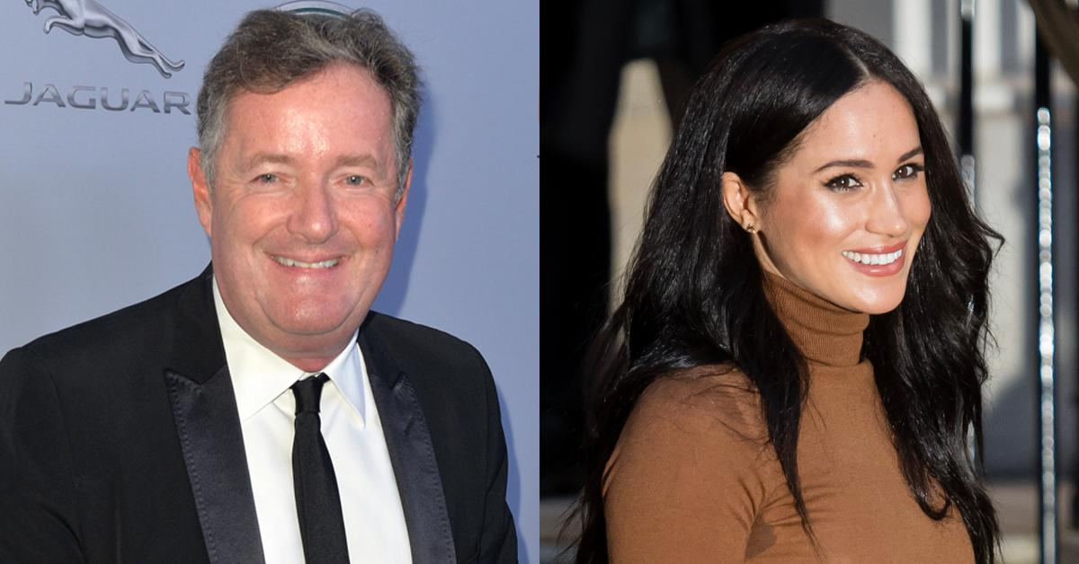 Piers Morgan and Meghan Markle
