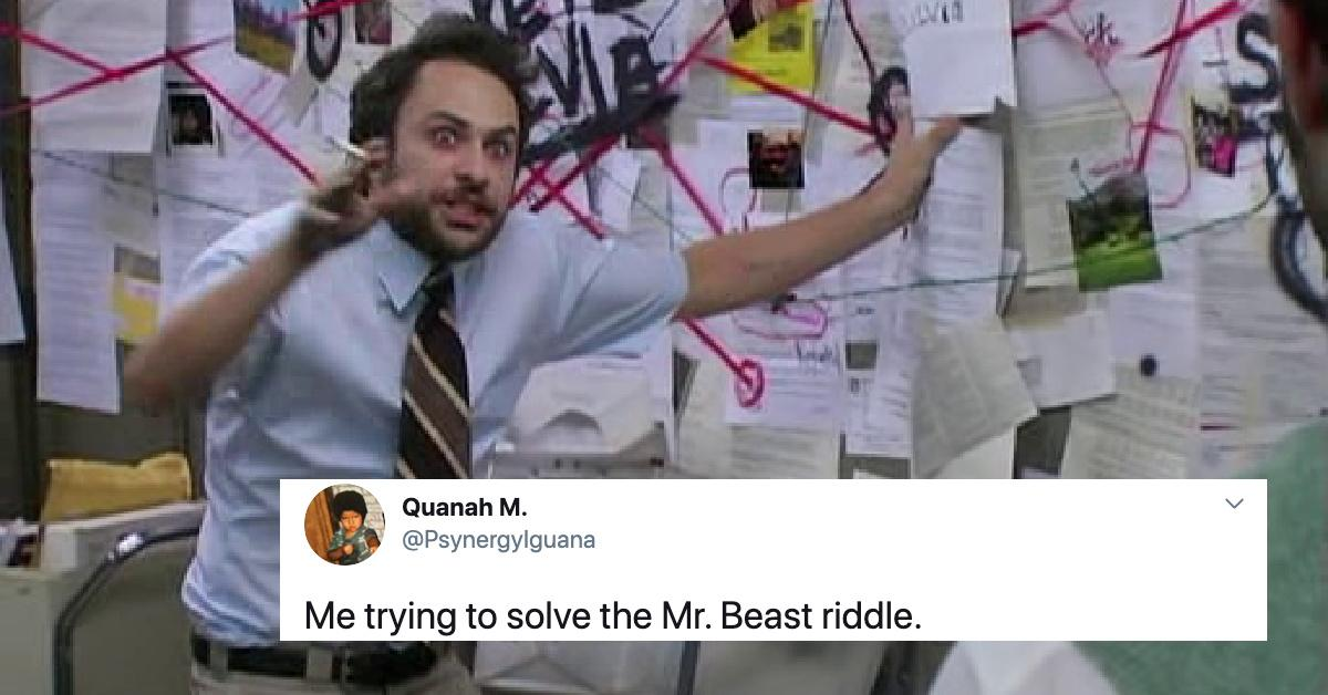 Mrbeast Says His Riddle Is The Hardest In The World Can You Solve It