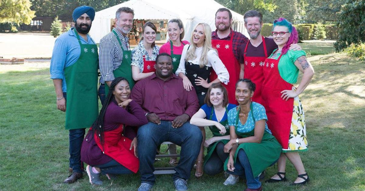 the great american baking show holiday edition hosts